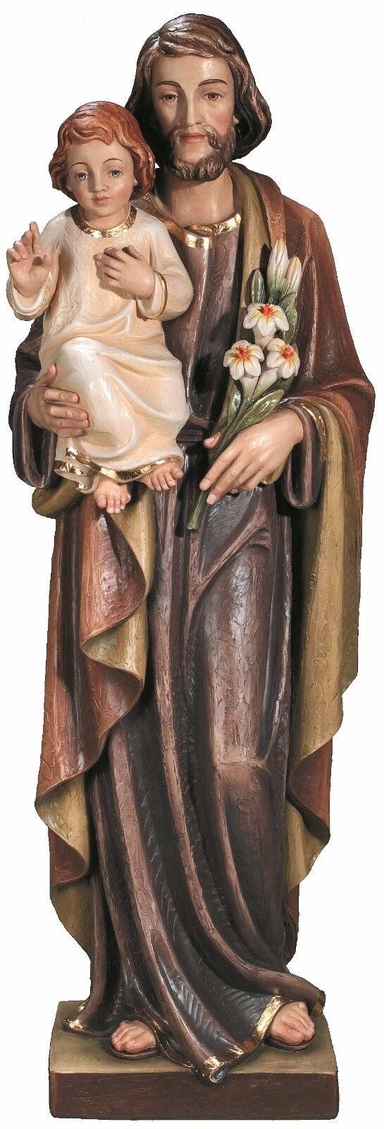 Statue SAN Giuseppe MIT Jesus. Jesus. Jesus. st. joseph with Jesus -hl. Josef MIT Jesuskind | Online  48a41f