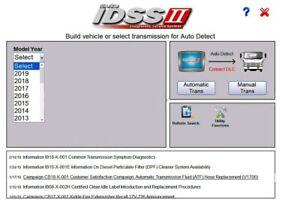 Isuzu IDSS II 2018 Isuzu Diagnostic Service System FULL VERSION