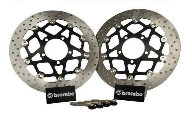 Kawasaki ZX6R 07 08 P7F P8F Brembo 330mm Conversion Front Brake Disc Upgrade Kit