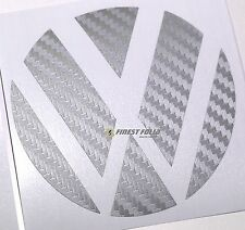 Emblem Ecken Carbon Anthrazit hinten VW Golf 6 VI GTI GTD R Turbo Logo Folie