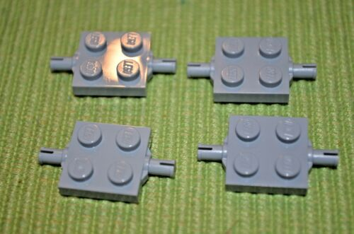 2x2 Light Gray Plate Axle for Small Tires Brick ~ New Lego Parts ~ Star Wars 4