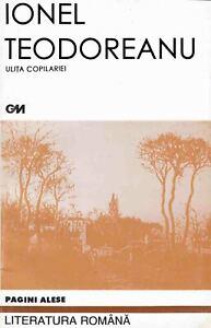 Ulita-Copilariei-Ionel-Teodoreanu-2004-book-Language-Romanian-Limba-Romana