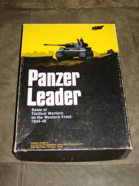 AH Avalon Hill 1974 - Panzer Leader - Tactical Warfare on Western Front  PUN   5