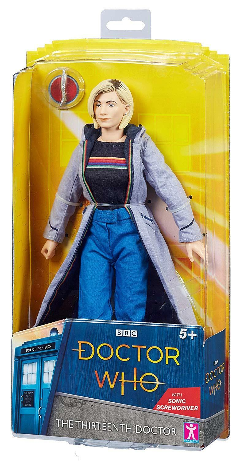 THIRTEENTH 13th DR DOCTOR WHO JODIE WHITTAKER COLLECTABLE FIGURE FIGURE FIGURE – BRAND NEW . a0a6b8