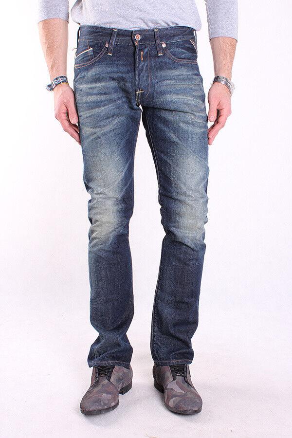 REPLAY m983 118 118 118 220 007 Waitom, Uomo Jeans, Pantaloni, Denim, Blu, trousers 34d510