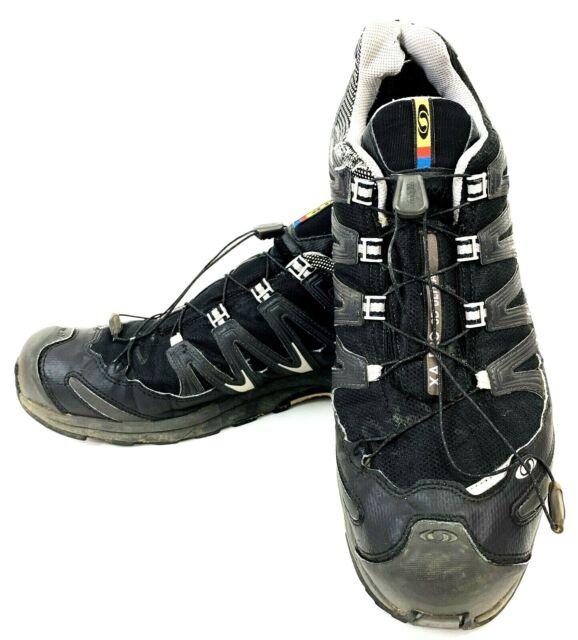 Salomon XA Pro 3D Ultra Men's Black Silver Trail Running Shoes Size US 14 M