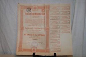 Ancienne Action Verreries Et Usines Chimiques De Donetz De 1895. Czug6sef-07221506-831115743