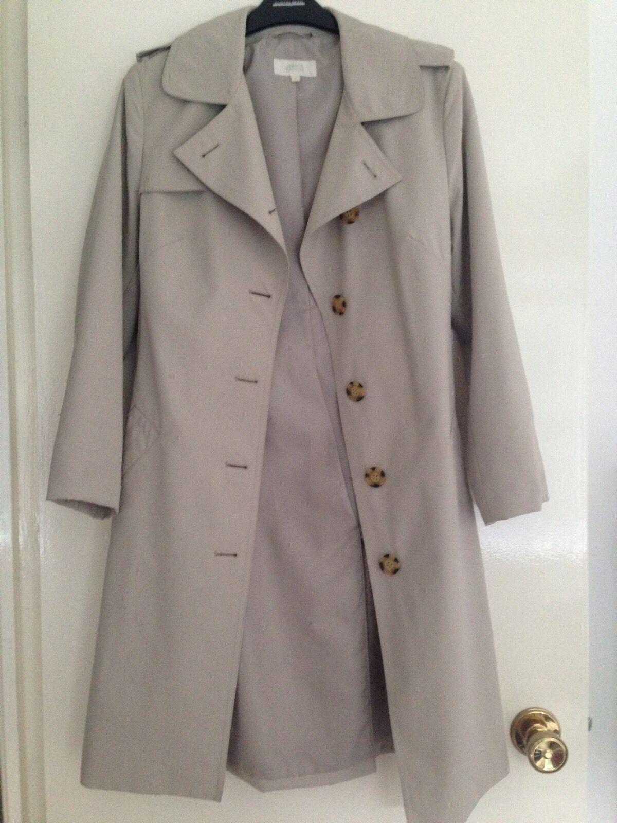 Marks & Spencer Spencer Spencer Stone Trench Coat 8 22ca38