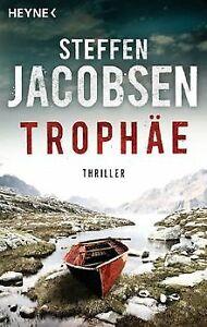 Trophaee-Thriller-von-Jacobsen-Steffen-Buch-Zustand-gut