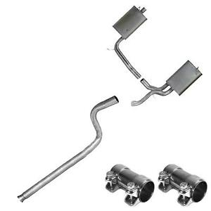 1999 2000 volvo s70 2 4l turbo awd single outlet exhaust system kit. Black Bedroom Furniture Sets. Home Design Ideas