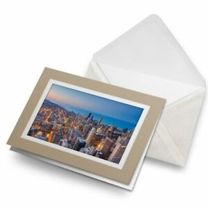 Greetings-Card-Biege-Cityscape-Chicago-Downtown-USA-21359