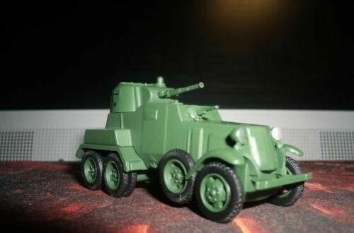 1//72 BA-10 USSR Panzerwagen die cast model with magazine 53 Eaglemoss