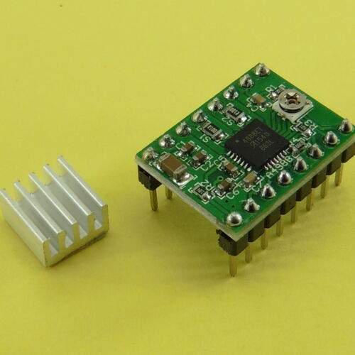 A4988 Controlador de motor paso a paso Stepstick Impresora 3D Para Reprap Rampas Y Otros