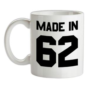 Made-in-039-62-Mug-57th-Compleanno-1962-Regalo-Regalo-57-Te-Caffe