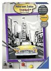 Ravensburger 28394 'new York Taxi' Painting by Numbers 30 X 24 Cm