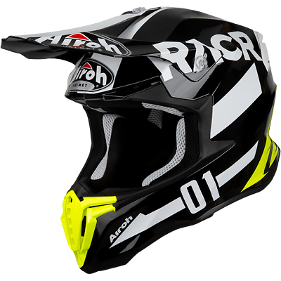Casco Da Moto Per Cross Enduro Airoh Twist Racr Gloss 2019 Taglia S