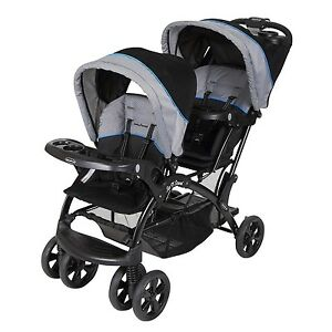 Baby-Trend-Double-Ride-Sit-N-Stand-Toddler-and-Baby-Stroller-Millennium-Blue