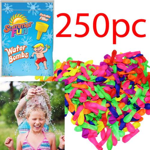 remplissage jardin 250 x rapide remplissage eau magique ballons ballons bombes summer toys