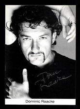 Dominic Raacke Autogrammkarte Original Signiert # BC 100796