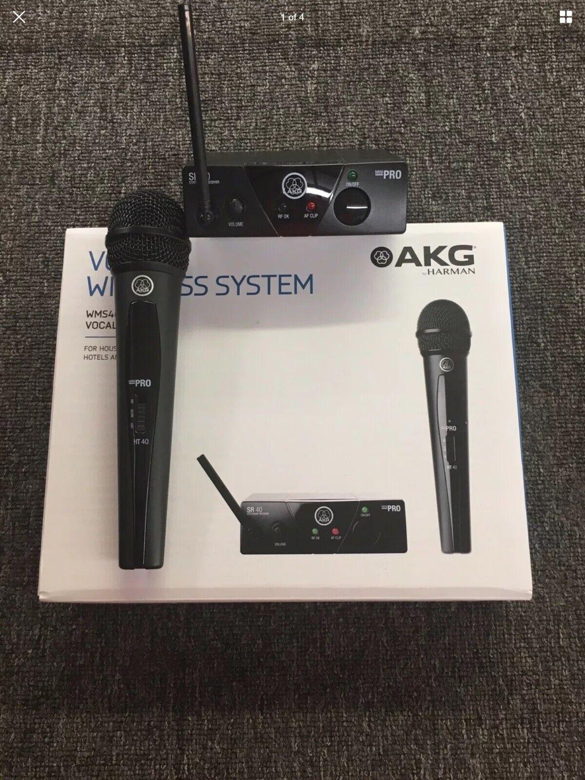 AKG WMS40 MINI Dynamic Wireless Professional Microphone