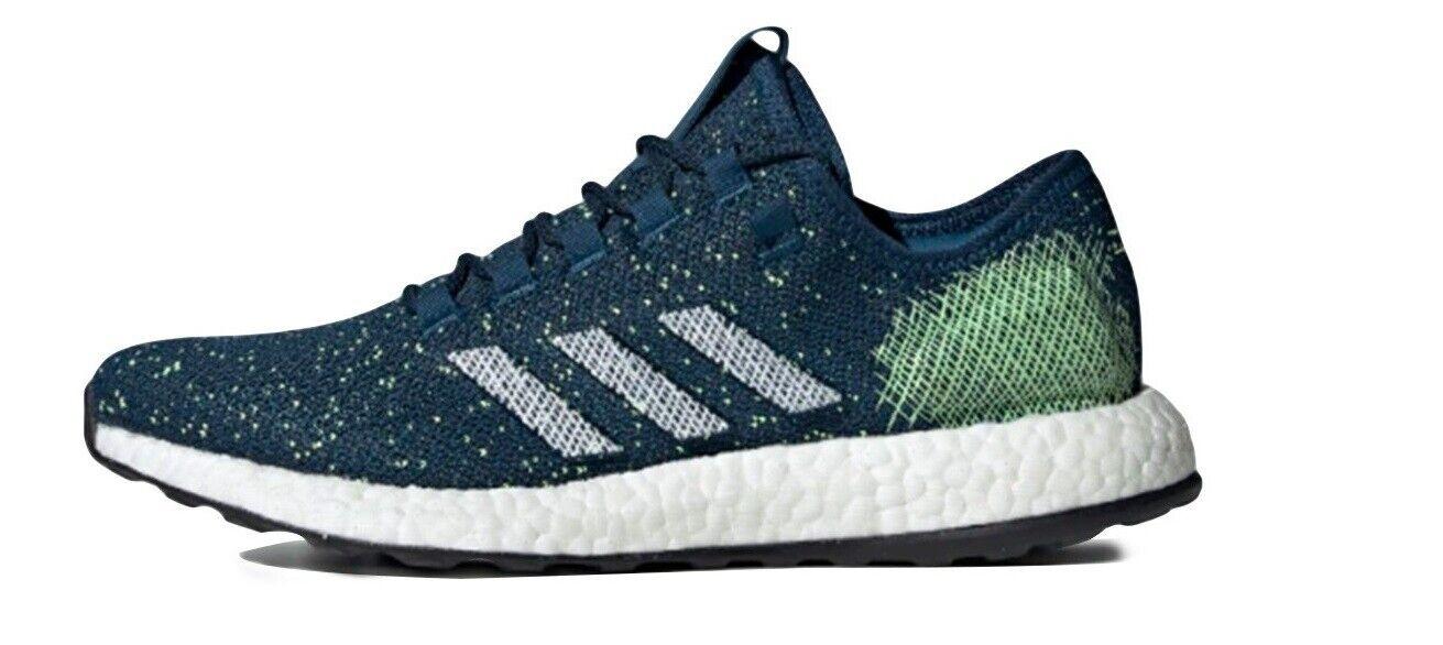 Adidas Herren Turnschuhe Pureboost Running Blau B37776 viele Größen NEU