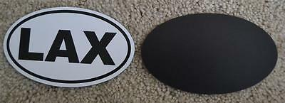 LAX Lacrosse Car MAGNET Bumper Sticker Sports Decal