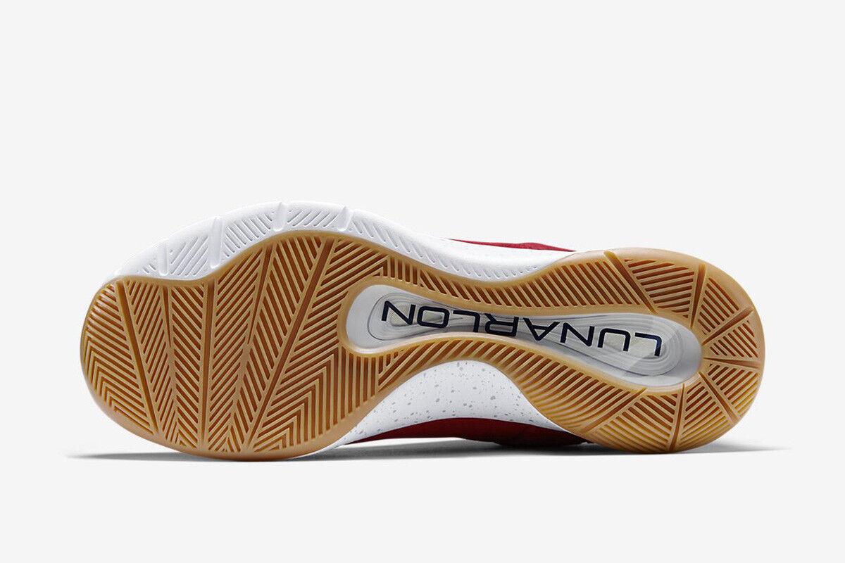 Nike Nike Nike Lunar Hyperrev Low EXT 2014 Red Obsidian Gum Grey 802557-600 hyper rev 11.5 9cd42e