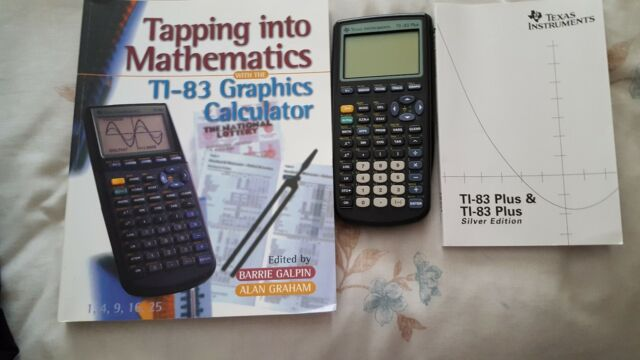 Texas Instruments TI 83 Plus Graphic Calculator For Sale Online