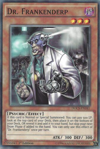 DOCS-EN041 1st EDITION DR FRANKENDERP YU-GI-OH CARD