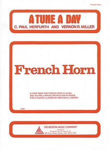 A Tune A Day French Horn Book 1 014034214 Neuf-afficher Le Titre D'origine
