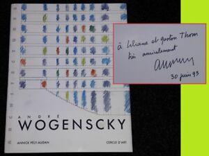 Appris André Wogenscky Cercle D'art 1993 * Signé !! Pély-audan Marta Pan Le Corbusier