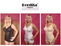 Berdita Retro Bodyshaping Panty Corselet Shapewear 96405 In Black White Or Beige