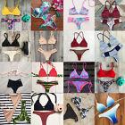 New Hot Women Bandage Push-up Bikini Set Padded Bra Triangle Swimsuit Swimwear