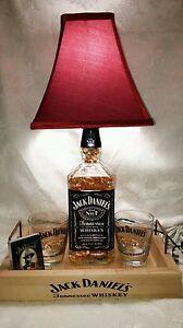 jack daniels 1 75 liter whiskey bottle light lamp bar decorations ebay