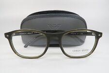 71a1b2fbde2 Giorgio Armani AR 7003 5005 Matte Brown New Authentic Eyeglasses 50mm w   Case