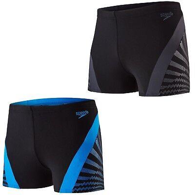 Speedo Badehose Männer Badeshorts Aquashorts Herren schwarz oder blau Endurance+