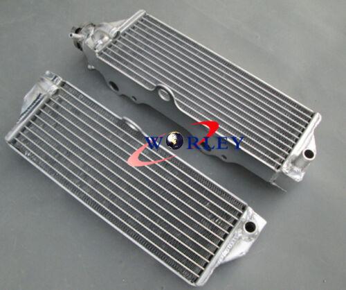 Aluminum Radiator for HUSQVARNA CR125//WR125 CR250//WR250 00-11 01 02//WR300 09-11