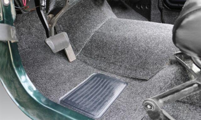 BedRug for 76-95 Jeep CJ-7/YJ Front Kit 8pc Floor Kit (Incl Heat Shields) - bedB