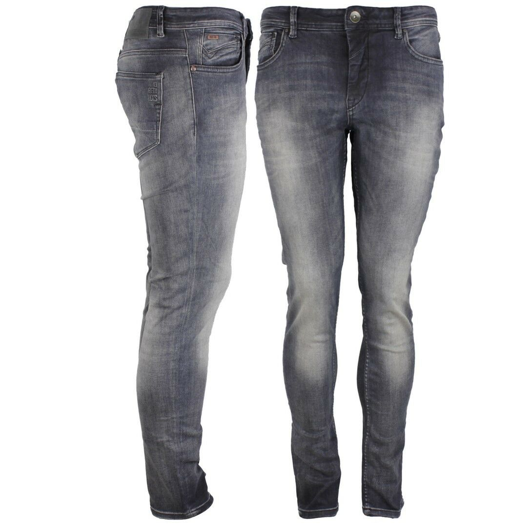 No Excess Jeans Pants Denim Grey bluee N711D47 224