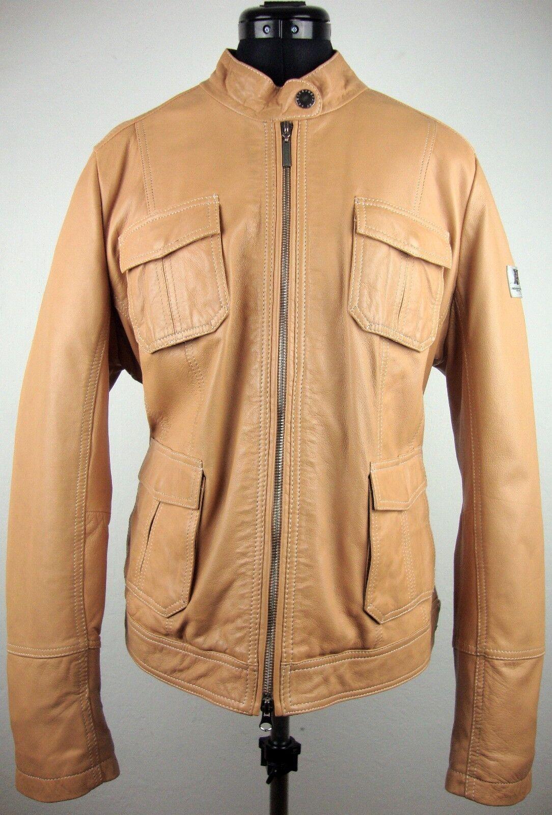 FRIEDA & FrotDIES NEW YORK Leather Jacket Damen Lederjacke Gr.46 NEU mit ETIKET