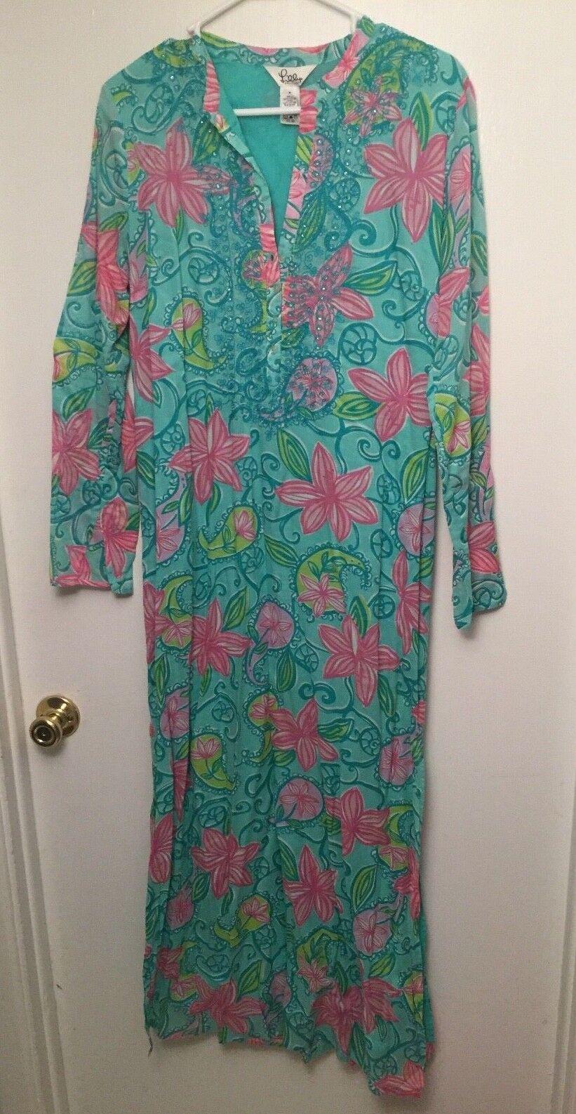 Lilly Pulitzer Long Tunic Dress- Size M