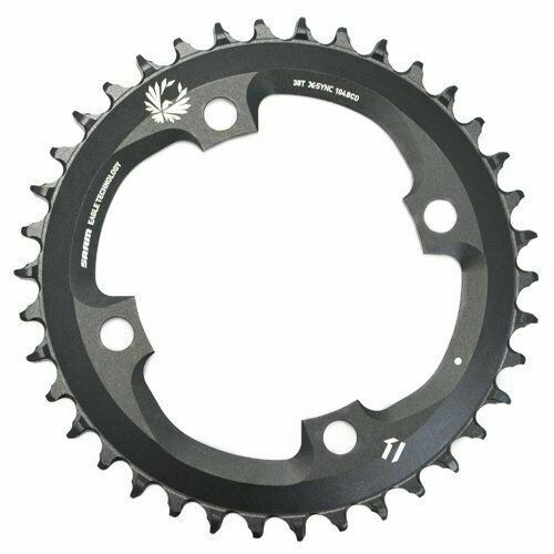 SRAM Eagle X01 X-sync Chainring 12 Speed 32t BCD 104mm Black for sale online