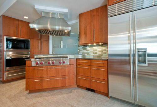 10X SOLID Stainless Steel T bar Kitchen Cabinet Door Handles Drawer Pulls Knobs
