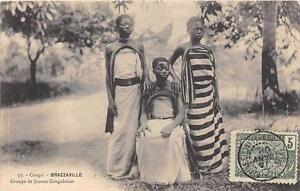 CPA-CONGO-BRAZZAVILLE-GROUPE-DE-JEUNES-CONGOLAISES