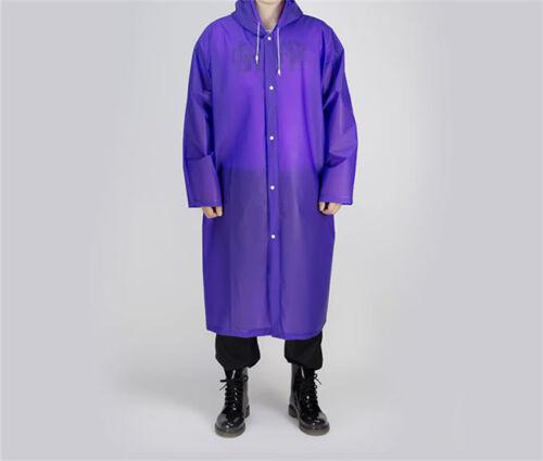 Disposable Adult Emergency Waterproof Rain Coat Hiking Camping 6A