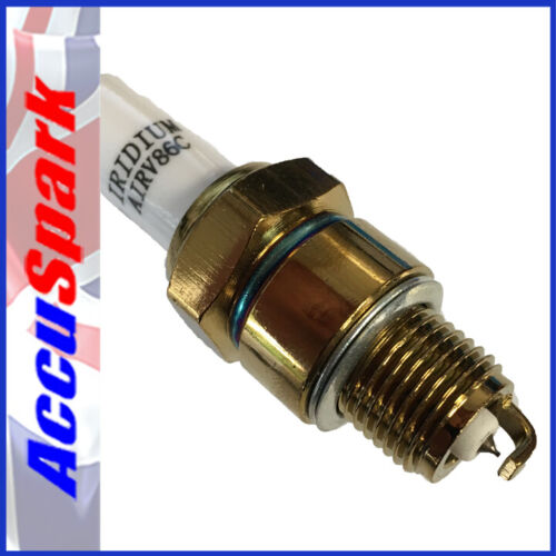 Spark Plug AIRV86C x1 =  NGK BP6HS Champion L87Y Accuspark IRIDIUM