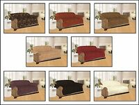 Sofa Throw Cover Quilted Jacquard Furniture Slip Pet Settee Arm Chair Protector