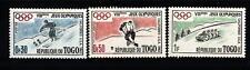 TOGO - 1960 - Giochi olimpici invernali ed estivi, Squaw Valley e Roma
