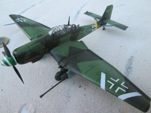 Junkers Ju YAKAiR 87 Stuka WW 2 U Rudl Ostfront Metall 1:72 Fw-190
