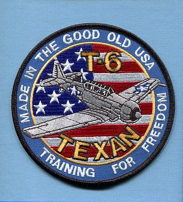 NORTH AMERICAN AVIATION T-6 TEXAN WW2 USAF AAC Training Squadron Jacket Patch